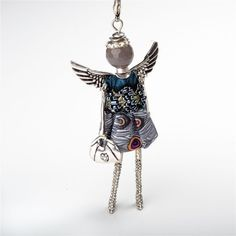 "Jacqueline Kent ""Prosperity"" Angel - Putti Fine Furnishings Toronto Canada 2014 Trends, Jewelry Findings, Hair Accessories, Toronto Canada, Jewellery, Money, Peeps, Angels, Jewels"