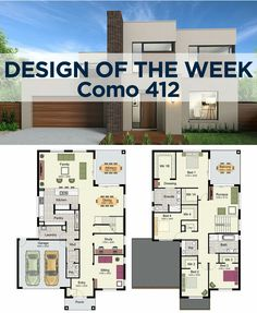 coffee mug ideas House Layout Plans, Modern House Plans, House Layouts, Modern House Design, House Floor Plans, Home Design 2017, Dream Home Design, Modern Style Homes, Building Companies
