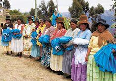 Un Pollera es una falda de llama o vicuña y pintado muchas colores. La gente quien vivan en los Andes llevan un Pollera.