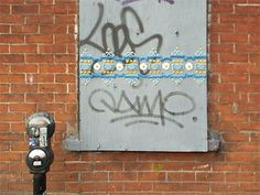 cake piping street art, shelley miller