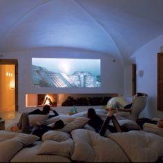 Fun Home Cinema Seating Idea