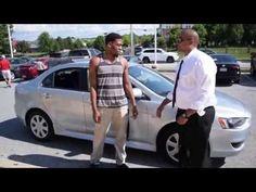 Congratulations Brandon on your purchase of a 2013 Mitsubishi Lancer! - YouTube #mistubishi