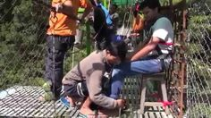 Sandy's Bungee Jumping Video Oct 2014 | At The Last Resort Nepal