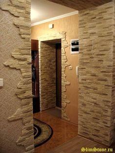 Hast Du Eine Langweilige Wand Aus Der Du Gerne Mehr Machen Willst? Mit  Etwas Kreativität Und Steinen Verwandelst Du Deine Langweilige Wand In Ein  Echtes ...