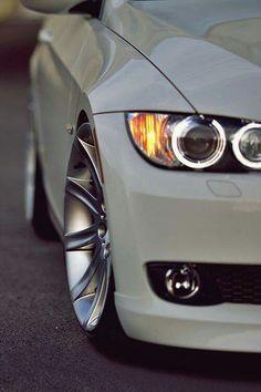 BMW E92 3 series white