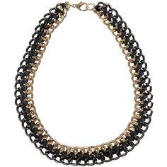 Bardot Two Tone Necklace ($26) via Polyvore