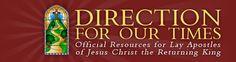 Lay Apostles for Jesus Christ the Returning King
