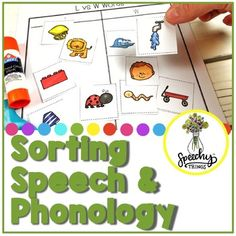 This packet contains two main types of sorting activities: single phoneme activities where they sort by language concept, and phonological awareness activities where they sort by phoneme or phonological process. It is a hands-on, engaging activity to make your students really THINK. Sorting is such ...