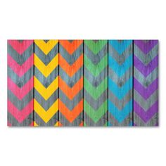 Chevron Pattern On Wood Texture Business Cards. SOLD! Thank you to the customer and referrer! #zazzle