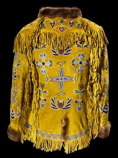 Indian beaded jacket