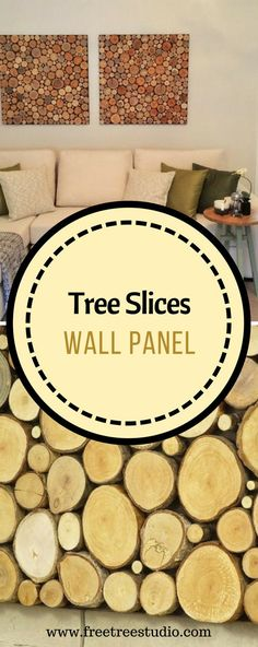 Modern Wall Art, Tree Slices Wall Panel, Sliced ​​Wood Art, Wood Wall Art, Natural Wall Art - Wooden Wall Arts: Our Products Wooden Wall Design, Wooden Wall Panels, Wooden Wall Art, Wooden Walls, Wooden Furniture, Wood Picture Frames, Picture On Wood, Walnut Wood Floors, Wood Tile Bathroom Floor