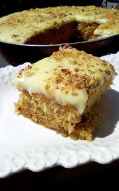 Greek Sweets, Greek Desserts, Greek Recipes, Desert Recipes, Greek Cake, Greek Pastries, Greek Dishes, How Sweet Eats, Yummy Cakes