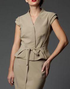 I Dress, Shirt Dress, Blouse And Skirt, Carolina Herrera, Peplum, Trousers, Clothes For Women, Sewing, Womens Fashion