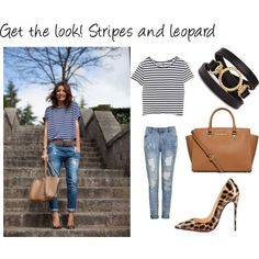 Stripes and leopard! -xx-