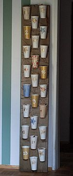 cups and cardboard
