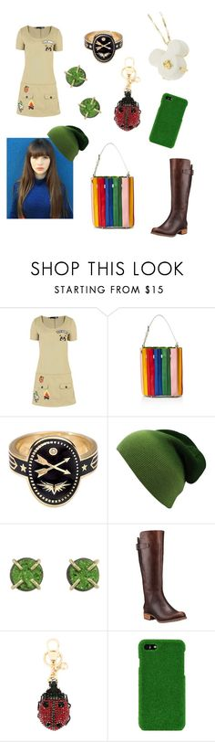 """Girl Scout Leader"" by savannah-foster-330 ❤ liked on Polyvore featuring Love Moschino, Sara Battaglia, Foundrae, Melissa Joy Manning, Timberland, Gucci and Shibaful"