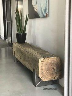 Log Furniture, Furniture Design, Home Room Design, House Design, Diy Home Decor, Interior Design, Decoration, Rustic Coffee Tables, Wood Design