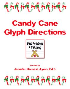 FREE MISC  LESSON      Candy Cane Glyph      Go to The Best of Pinterest