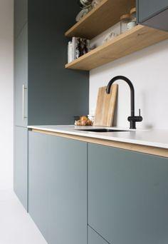 Kitchen Room Design, Diy Kitchen Decor, Kitchen Dinning, Modern Kitchen Design, Interior Design Kitchen, Küchen Design, House Design, Studio Apartment Furniture, Kitchen Modular
