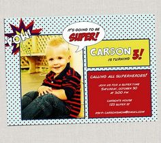 For Your Little Party Animal: A Superhero Soiree « Spearmint Baby