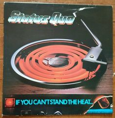 STATUS QUO IF YOU CAN T STAND THE HEAT VINYL 1978 GATEFOLD LP Australia 6360 164