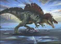 Rudy\'s and Ratty\'s Adventure: Dinosaur of the Month- Spinosaurus aegyptiacus