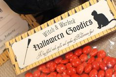 Free Halloween Party Printables: Little Witches and Warlocks Party