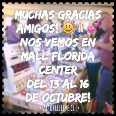 Muchas gracias amigos!  Nos vemos en Mall Florida Center desde el  13 al 16 de Octubre! #Altorrelieve #rodante #mall #feriaverde #verde #floridacenter #laflorida #mall #feria #expo #hechoamano #chile #rodanteferia