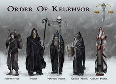 Order Of Kelemvor Monk Hierarchy