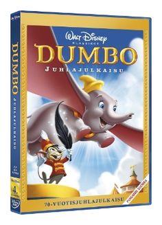 Walt Disney Klassikot Dumbo DVD 6,95€ klassikot mielellään blu raynä jos vaan mahdollista :)