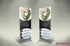 Funeral Services Roll Up Banner. Wedding Fonts. $2.00