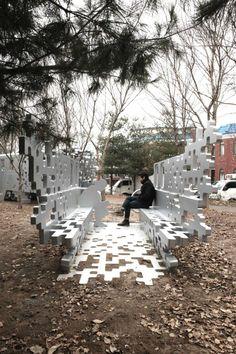 Train Dispersion Sculpture | Yong Ju Lee
