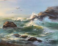 "Daily Paintworks - ""A New Day"" - Original Fine Art for Sale - © Sharon Abbott-Furze"