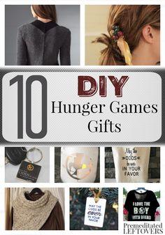 DIY Gifts for Hunger Games Fans