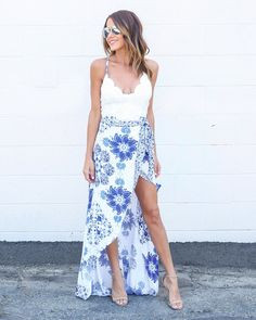 Summer In Santorini Dress