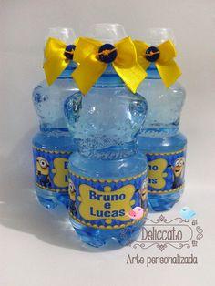 Água mineral tema Minions.