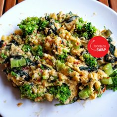 Italiaanse stamppot Snack Recipes, Healthy Recipes, Healthy Food, Snacks, Quick Easy Meals, No Cook Meals, Love Food, Broccoli, Risotto