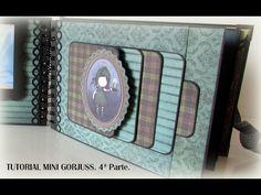Y seguimos con otra página de nuestro mini de Gorjuss. Las plantillas que aparecen en el video podéis encontrarlas en mi página de Facebook en un álbum llama... Mini Scrapbook Albums, Scrapbook Sketches, Scrapbook Paper Crafts, Papel Scrapbook, Scrapbooking Ideas, Scrapbook Layouts, Diy Organisation, Belle And Boo, Swing Card