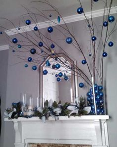 Trop facile de fabriquer sa déco de Noël ! Décorer les fenêtres, l'entrée, la cheminée... de guirlandes lumineuses, bougies, vases, branchages, de boulesen rouge et blanc ounoir et doré... Déco Cool vous donne des idées à faire pour une déco de la maison féerique à Noël.Rédigé le 8/12/2015 Bi