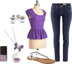 """purple"" by maddie-callen on Polyvore"