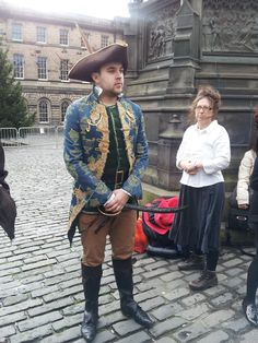 These Edinburgh Napier Students dressed in their finest pirate garb to celebrate Robert Louis Stevenson's birthday.