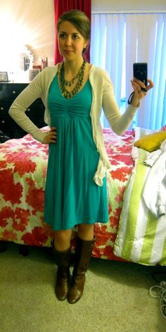 @Clare Brady styling our Elusive Dress! We're launching this dress in new colors next month!