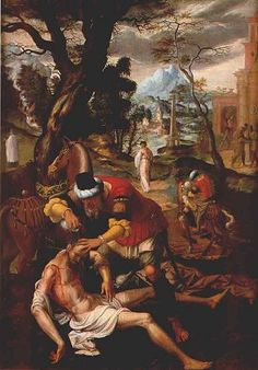 """The Good Samaritan.    BIBLE SCRIPTURE: Luke 10:33, """"But a certain Samaritan, as he journeyed, came where he was: and when he saw him, he had compassion on him,"""""""