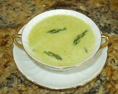 Potage Crème D'Asperges aka Cream of Asparagus Soup