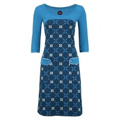 Dress Retro Go Royal Blue