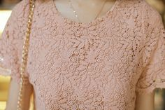 Embroidered Club Pink Dress