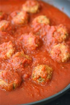 Meatless meatballs (These were actually really good, and easy to make. ~cj)