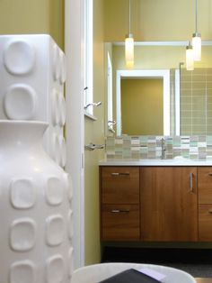This Mid Century Modern Master Bathroom Went From Ho Hum To Hot In A
