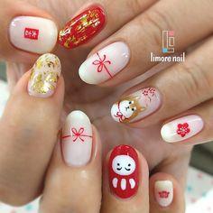 Pig nails, new year's nails, trendy nails, cute nails, christmas nail. Pig Nails, New Year's Nails, Nail Color Trends, Nail Colors, Christmas Nail Art, Holiday Nails, Acrylic Nail Designs, Nail Art Designs, Hello Nails