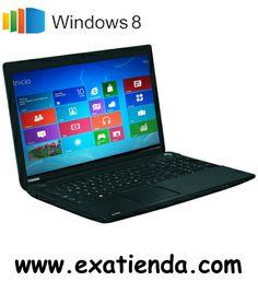 "Ya disponible Nb toshbia c50 a146 1005/4gb/500gb/15.6""/w8/64   (por sólo 424.89 € IVA incluído):   -Procesador:Intel Celeron 1005M / 1.90 GHz -Memoria:4GB DDR3 1600MHz (max. 8GB) -Hdd:500GB SATA 5400rpm -Óptico: DVD Super Multi (Doble capa) -Pantalla:TFT LED 15.6"" TruBrite HD (1366x768) -Graficos:Intel HD Graphics hasta 1,739 MB -Webcam:Integrada -Conectividad: *Lan: 10/100 *Wifi: 802.11b/g/n *Bluetooth:4.0 + LE -Sistema operativo: Windows 8 64-bits -Interfaces: 1 × Mon"